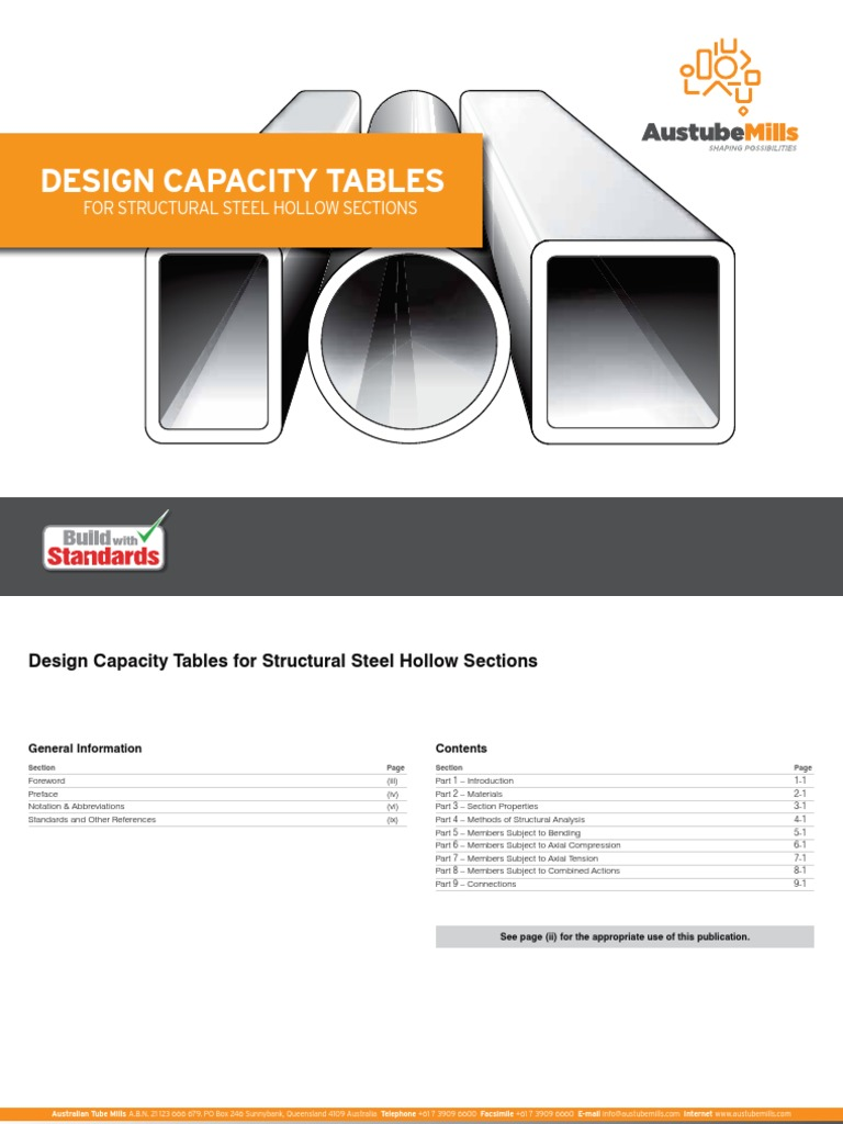 tata structural steel hollow sections pdf