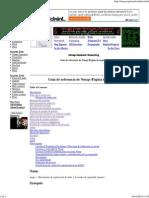 Guía de Referencia de Nmap (Página de Manual)