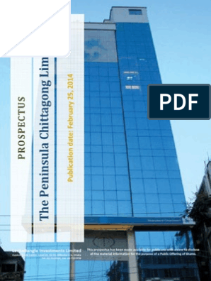 The Peninsula Chittagong | Initial Public Offering