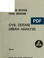 (1953) Civil Defense Urban Analysis