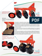 3 Disc Plough and 4 Disc Plough