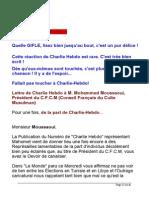 CHARLIE HEBDO - Musulmans en France