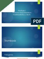 Tromboembolia y Shock