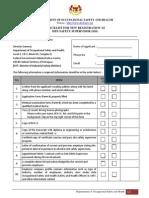site safety supervisor form