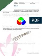 Ficha Arduino - 04 LED RGB