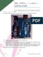 Ficha Arduino - 01 Conexión de 1 LED