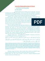 Ayat Muhkamat Dan Mutasyabihat Dalam Al
