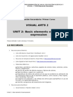 Visual Arts I. Programación de aula (español). Unit 2.doc