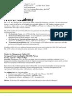 ACPE Academy