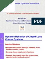 10. Closed-loop Dynamics - 2013
