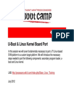 Sitara Boot Camp Uboot Linux Kernel Board Port