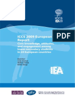 ICCS 2009 European Report