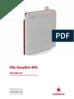 DSL EasyBox803 Arcadyan 20100412