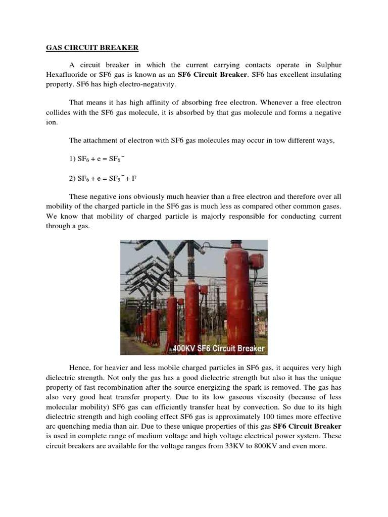 Gas circuit breaker electric arc gases publicscrutiny Images