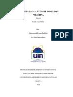 Potensi Indonesia di Konflik Israe-Palestina