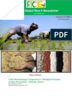 12th January,2015 Daily Global Rice E-Newsletter by Riceplus Magazine