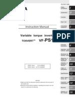 Tosvert Vf Ps1 Manual Vf Ps1 Em Ingles