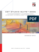 CST Studio Suite - Advanced Topic
