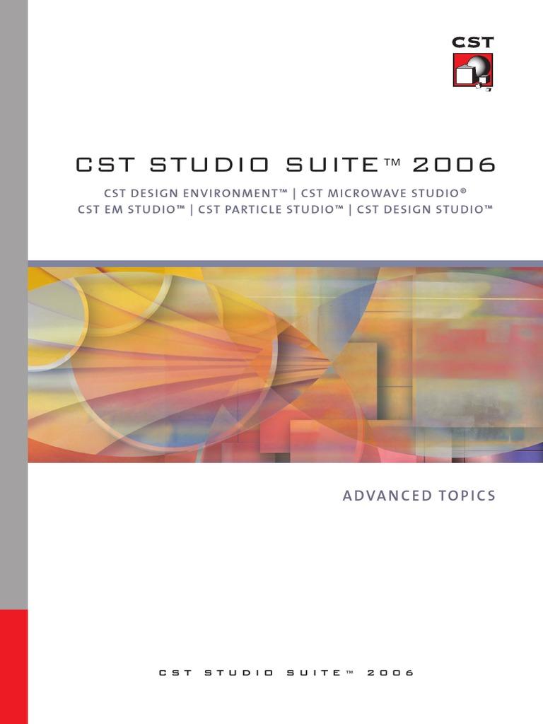 Cst Studio Suite Advanced Topic Computational Electromagnetics Numerical Analysis