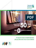 Standard Chartered Credit Card InstaBuys Calalog