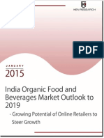 Future Outlook India Organic Food and Beverages Market