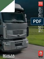 Catalogo Repuestos Camiones Renault 2014