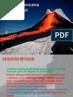 Konsep Mitigasi Bencana Gunung Api