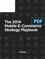 2014 Mobile E Commerce Strategy Playbook Mobify