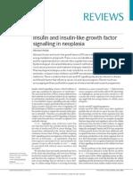 Insulin and Insulin-like Growth Factor (1)
