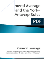 General Average and the York-Antwerp Rules