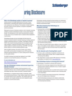 Hydraulic Fracturing Disclosure Faq