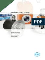 SIKO Rotoline Rotary Encoders Catalog