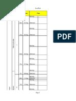 Schedule Java Dev