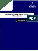 Caderno de Hermenêutica Jurídica