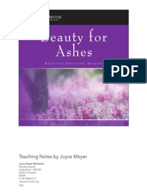 TN1 - BEAUTY FOR ASHES pdf | Anger | Shame