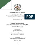 Onésimo Redondo Ortega. Vida, obra y pensamiento de un sindicalista nacional (1905-1936)