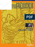 Estudio de bolivia