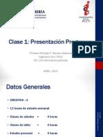CLASE 1 PRESENTACIÓN DEL PROGRAMA