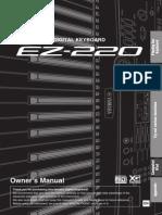 Manual Ez 220