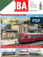 MIBA. Die Eisenbahn Im Modell 2012-12