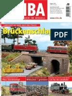 MIBA. Die Eisenbahn Im Modell 2012-08