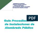 Guia de Proyecto de Alumbrado Publico