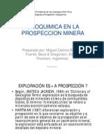 PG1- Prosp Geoquimica