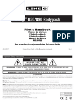 Relay TBP12 Transmitter Pilot's Guide - English ( Rev J )