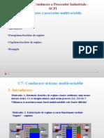 Cap 7 - Solutii de Conducere a Proceselor Multivariabile