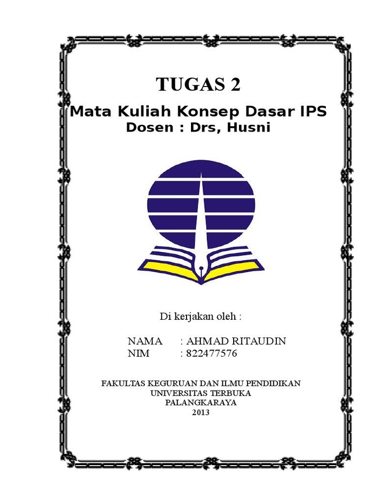 Cover Tugas Kuliah Ut