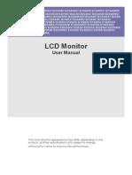 Lcd Monitor User Manual
