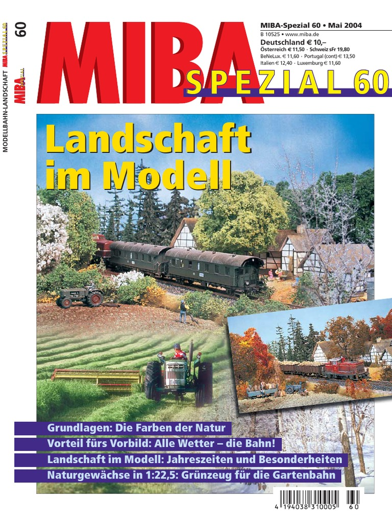 Miba Spezial 60 Landschaft Im Modell