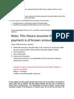 Actuarial Notes