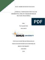 laporan magang telkomsel.doc